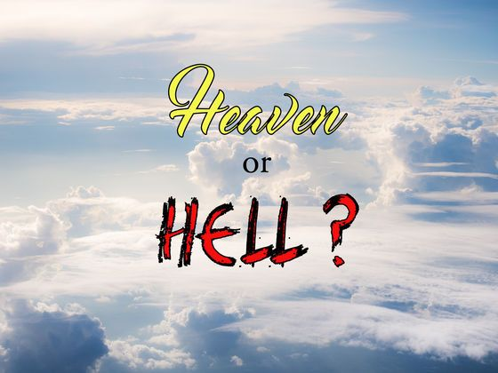 Heaven and hell test