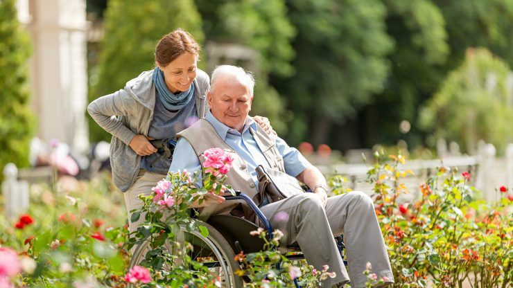 Visiting a Loved One in a Nursing Home or Assisted Living