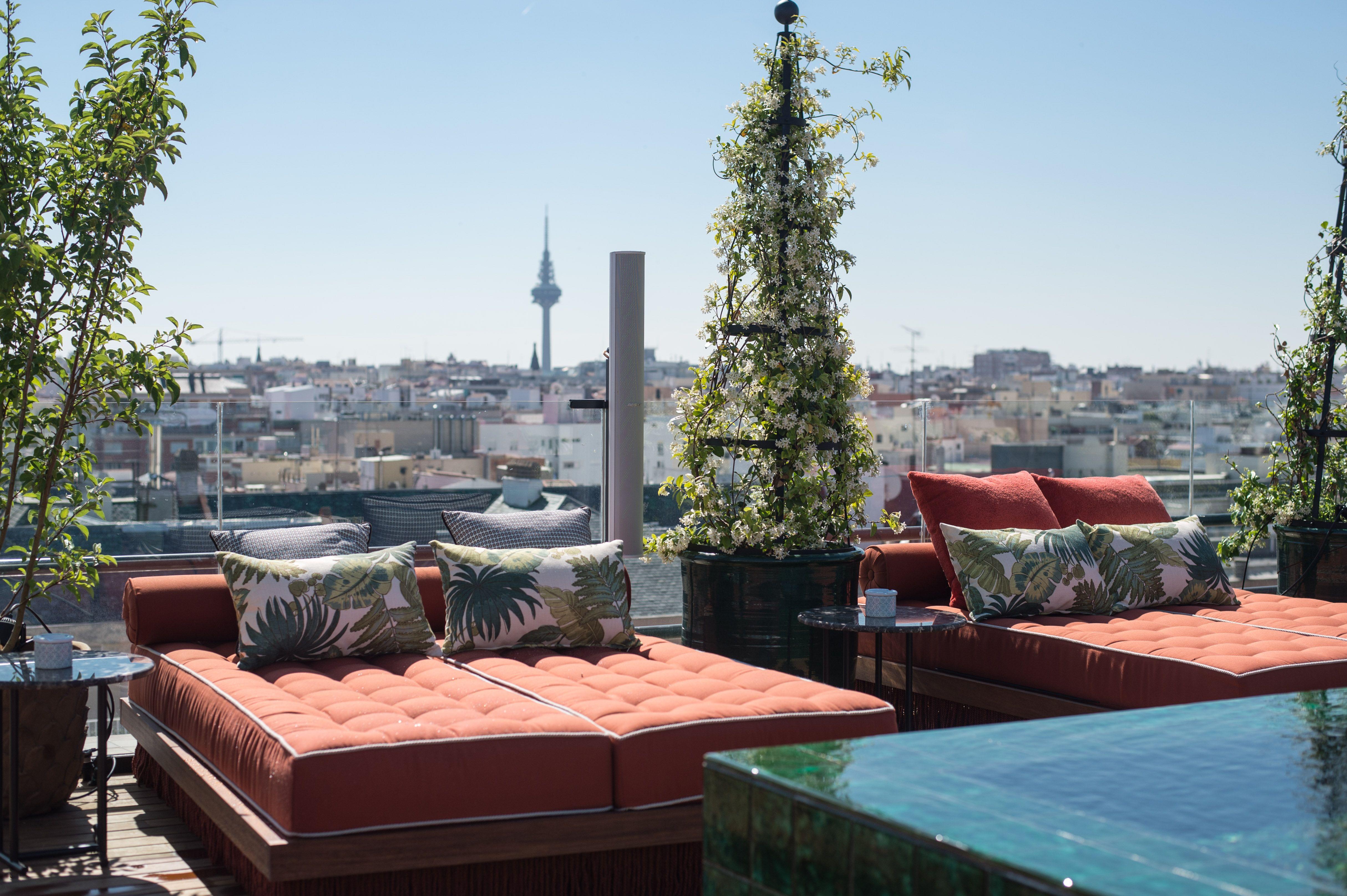 Picos Pardos Sky Lounge Madrid Hotels Design Luxury Hotel