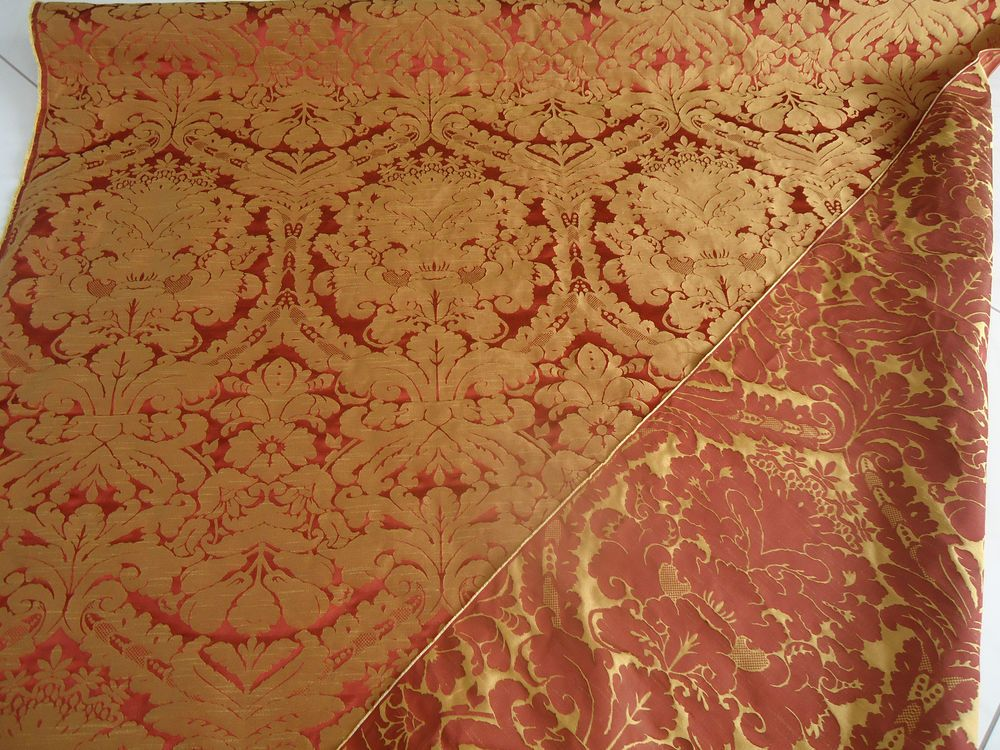 Details Zu Nr. 2441  2442 Gardinen Vorhang Deko Stoff Meterware Barock Stil  Mehrere Farben