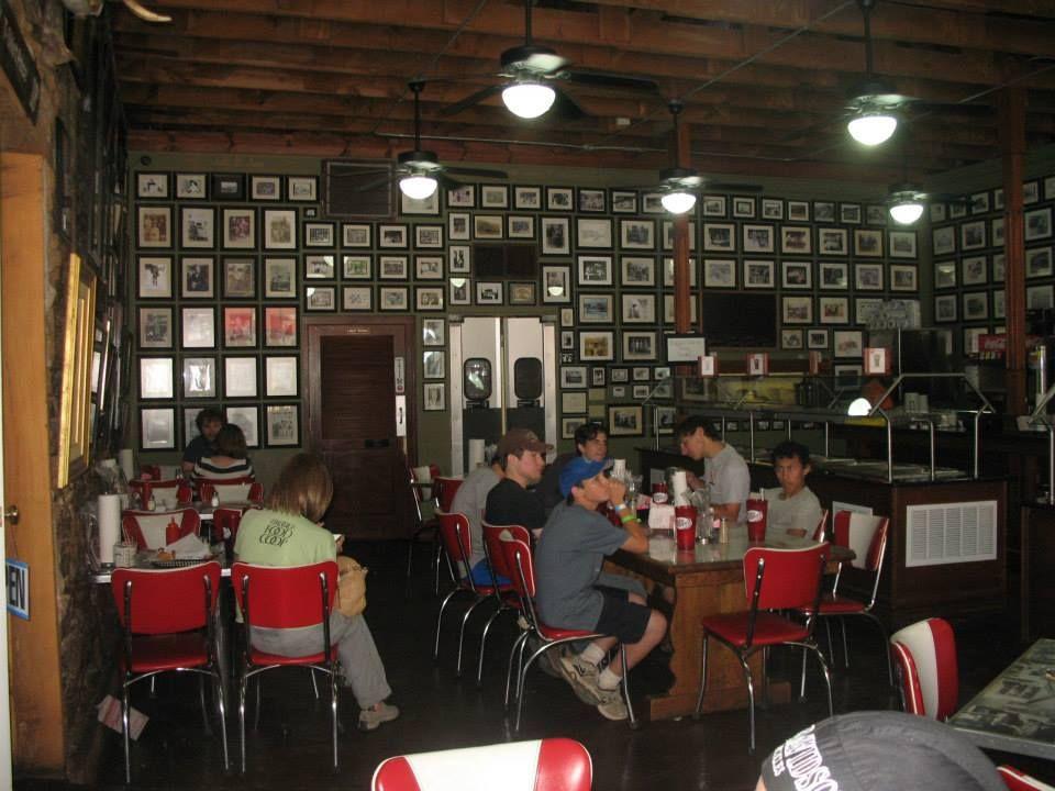 Historic Ozark Cafe Jasper Arkansas Wall To Full Of History