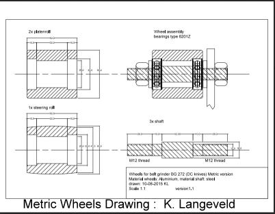 Diy Plan To Make A Four Wheel 2 X 72 Quot Belt Grinder The