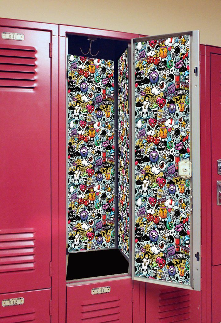 Make a bold statement this year with our Graffiti Wall