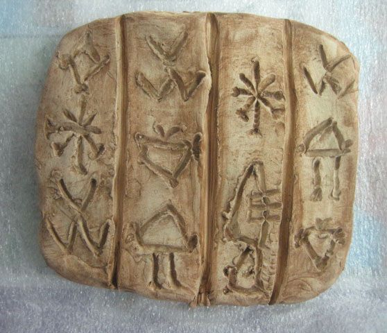 Inspired Class Make Your Own Cuneiform Writing Tablets Ancient Writing Mesopotamia Projects Ancient History Homeschool