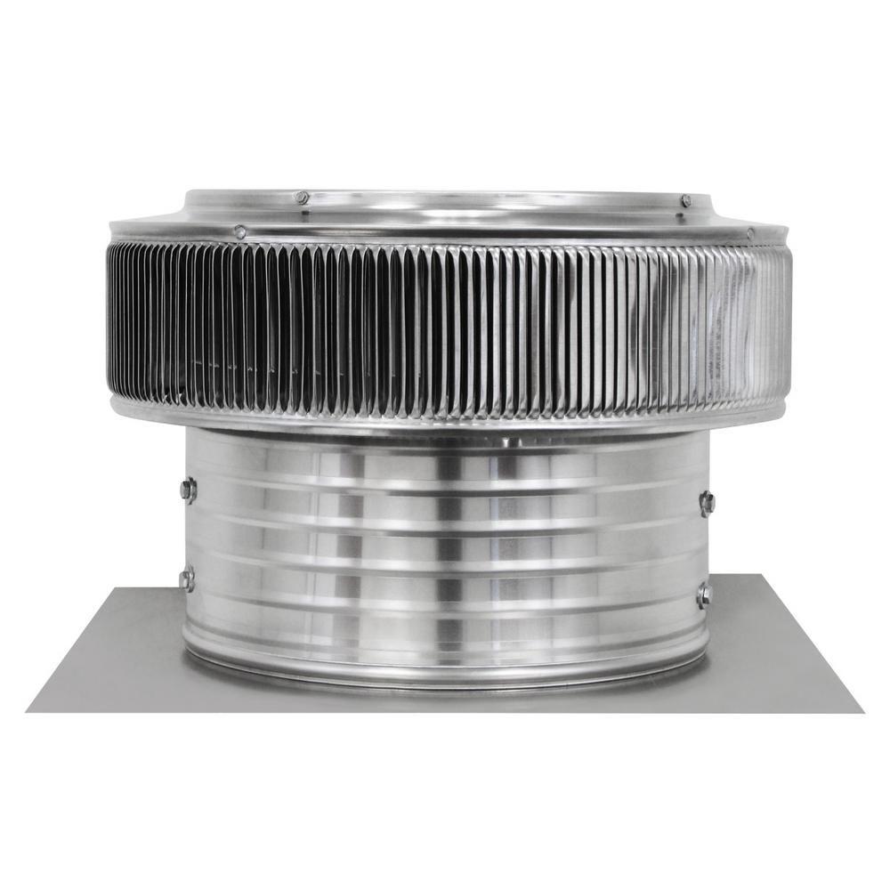 Active Ventilation 14 In Dia 1000 Cfm Power Mill Aura Attic Fan With 6 In Collar Af 14 C6 Attic Fan Solar Attic Fan Auras