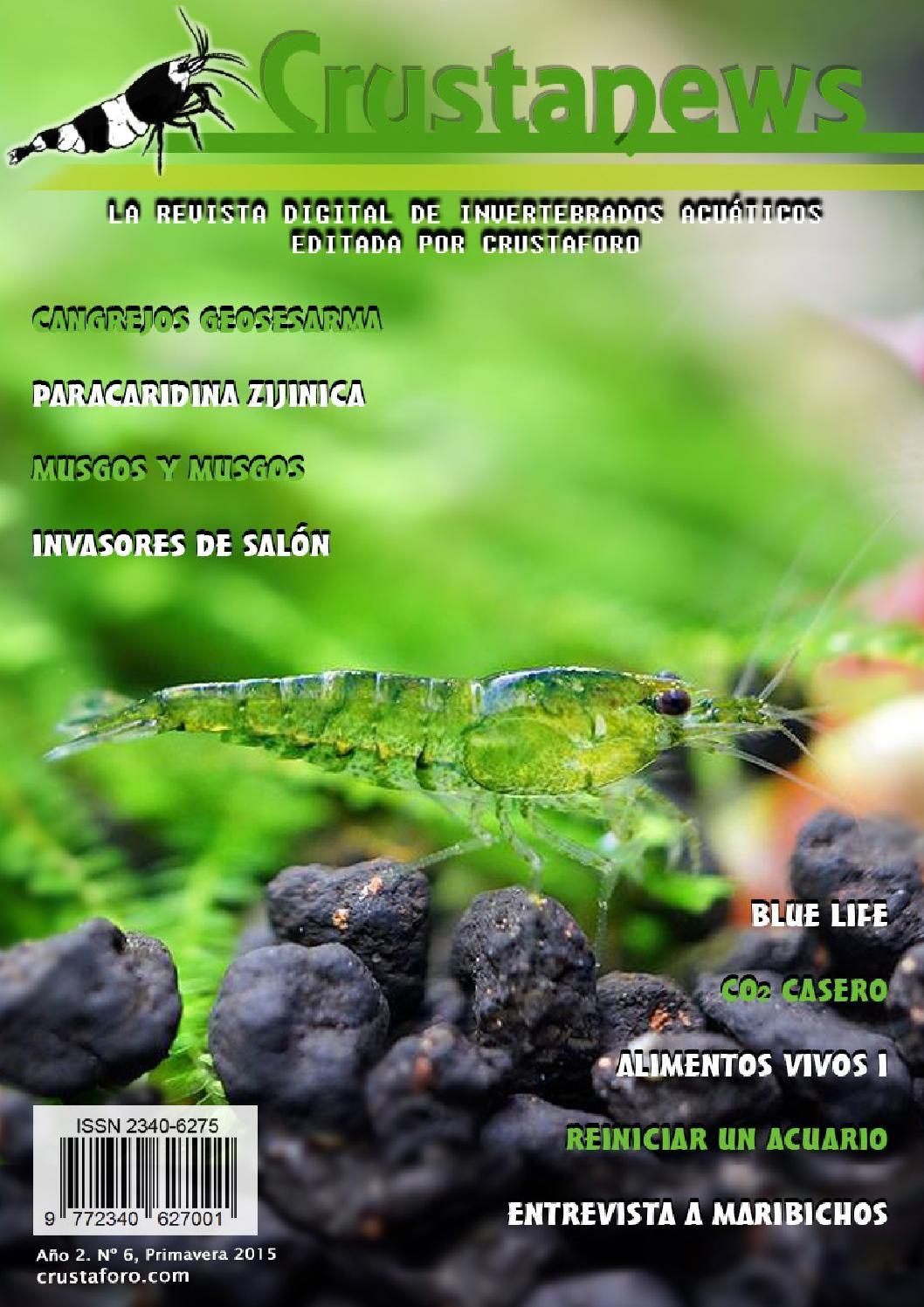 Crustanews Nº6 Primavera 2015