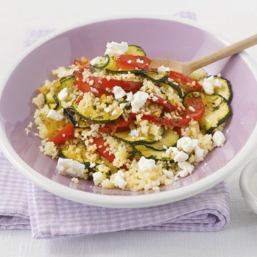 Photo of Vegetable pan with couscous