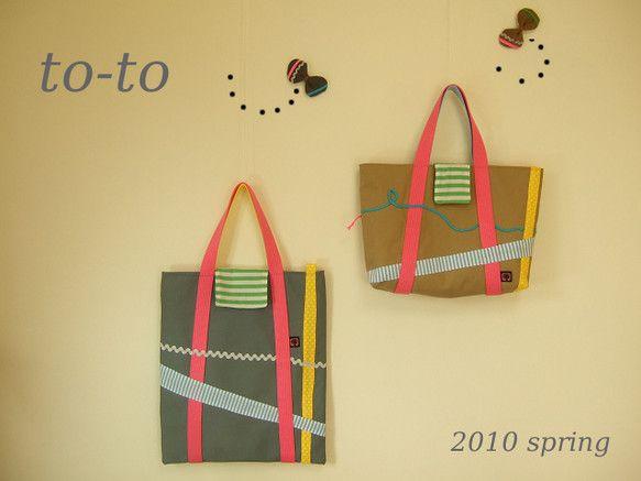 トートバッグ|ハンドメイド、手作り、手仕事品の通販・販売・購入ならCreema。