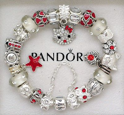 1d5f5958a958a Hello Kitty Pandora Bracelets by Vinnie-baby collection on eBay ...