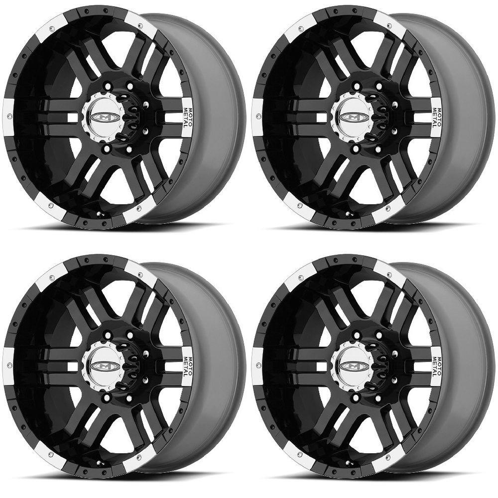 Pin By A2i Wheels On Truck Stuff Gmc Black Truck Chrome Wheels
