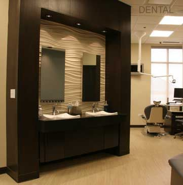Dental office design office by design space planning for Medical office interior design