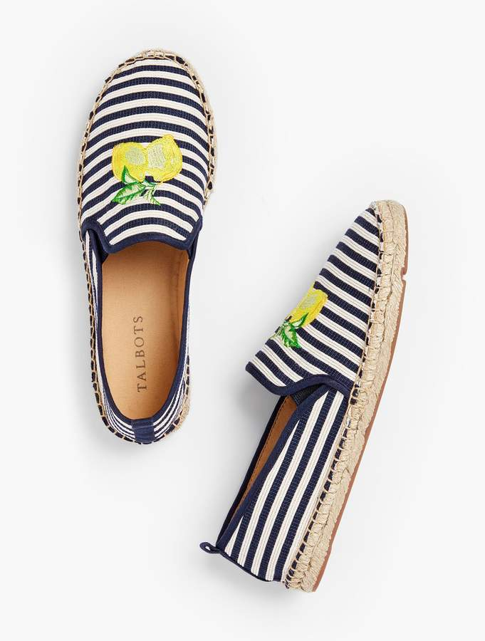 06c86f897e3 Izzy Espadrilles - Embroidered Lemon in 2019 | Products ...
