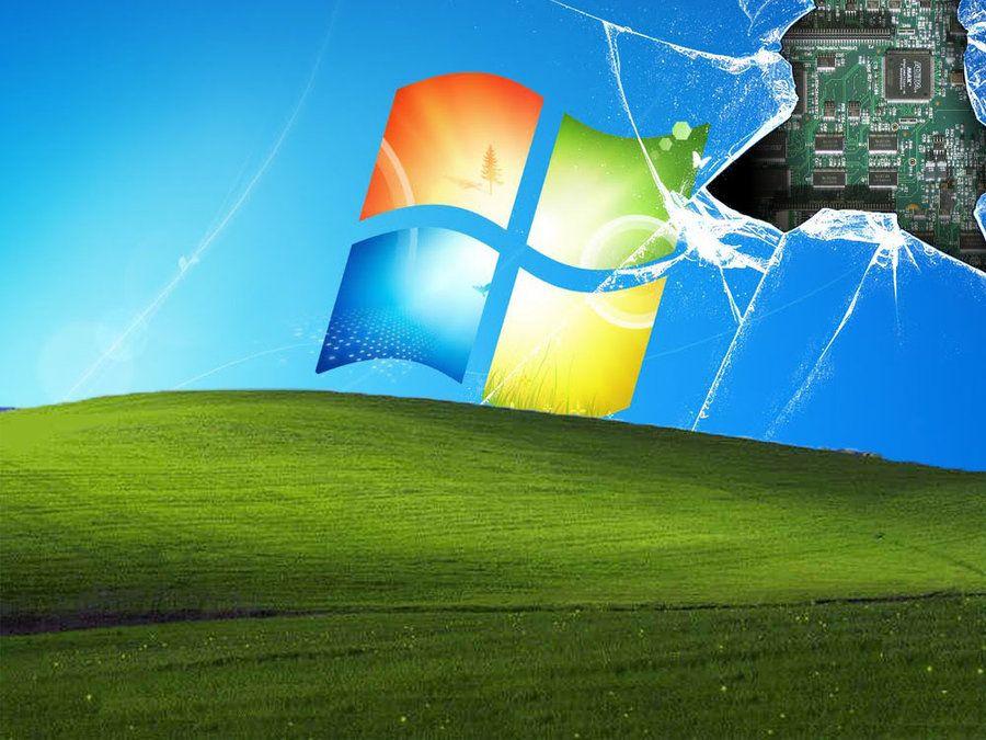 Still mad windows xp and 7 broken screen backgrounds windows xp and 7 broken screen voltagebd Images