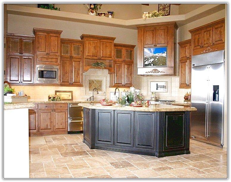 Honey Oak Kitchen Cabinets Decorating Ideas Custom Kitchen