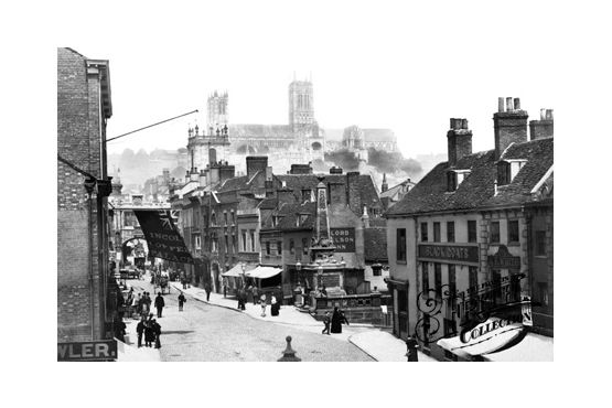 The Cathedral And Stonebow 1890, Lincoln