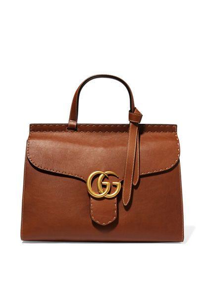 GG Marmont Tote aus Leder von Gucci, über net-a-porter.com, 2200 Euro