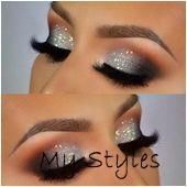 43 Best Lovely Silver Glitter Eye Makeup Idea For Prom And Wedding - Page 23 of - #hazel #eye  #style #shopping #styles #outfit #pretty #girl #girls #beauty #beautiful #me #cute #stylish #photooftheday #swag #dress #shoes #diy #design #fashion #Makeup