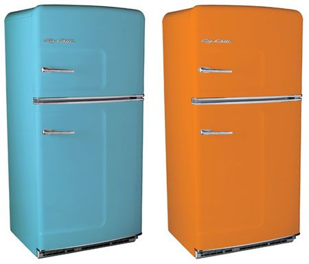 Vintage fridge in my apartment colors?! YES! | To Dwell ...