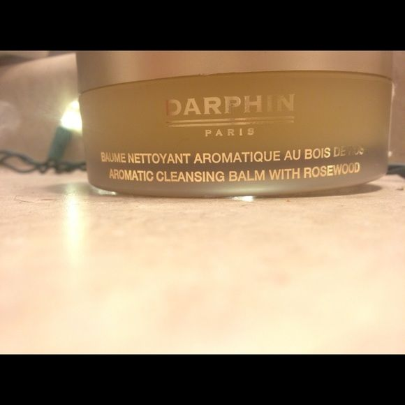 "DARPHIN Paris Aromatic Cleansing Balm BRAND NEW ✅.  DARPHIN PARIS                                                       ""Indulge in a blissful, purifying spa experience! Rapturous aromatic pleasure engulfs you as this opulent balm with Marula Oil, Sage, Ylang Ylang and Rosewood Essential Oils, entraps impurities, nourishes, and relieves tightness. Magically transforms with water into a silky, non-oily, non-comedogenic milk to leave skin pristinely clean, smooth, supple and luminously…"