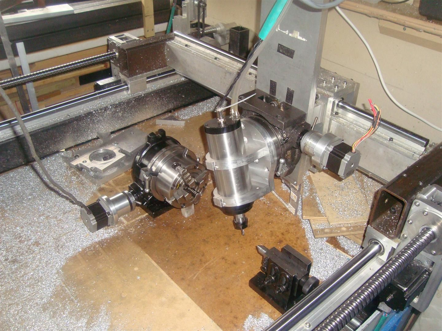 So what can I do with this     5-Axis    DIY CNC MILLS and