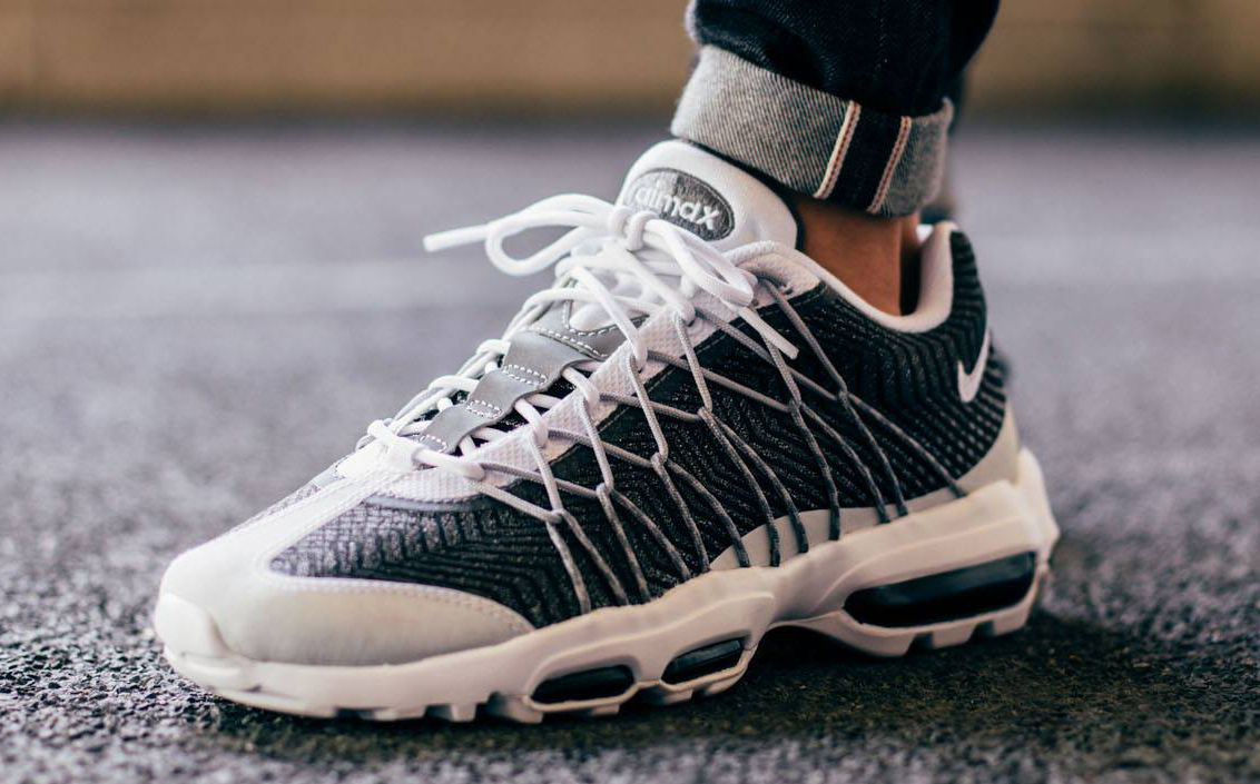 air max 95 ultra jacquard blanche