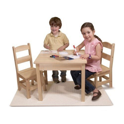 Kids Table And Chairs Set Activity Dining Room Little Party Play ...