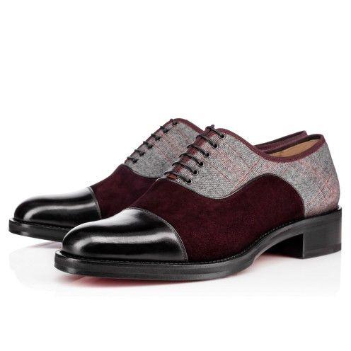 Men Shoes - City Bro Orlato Flat Calf/laine - Christian Louboutin