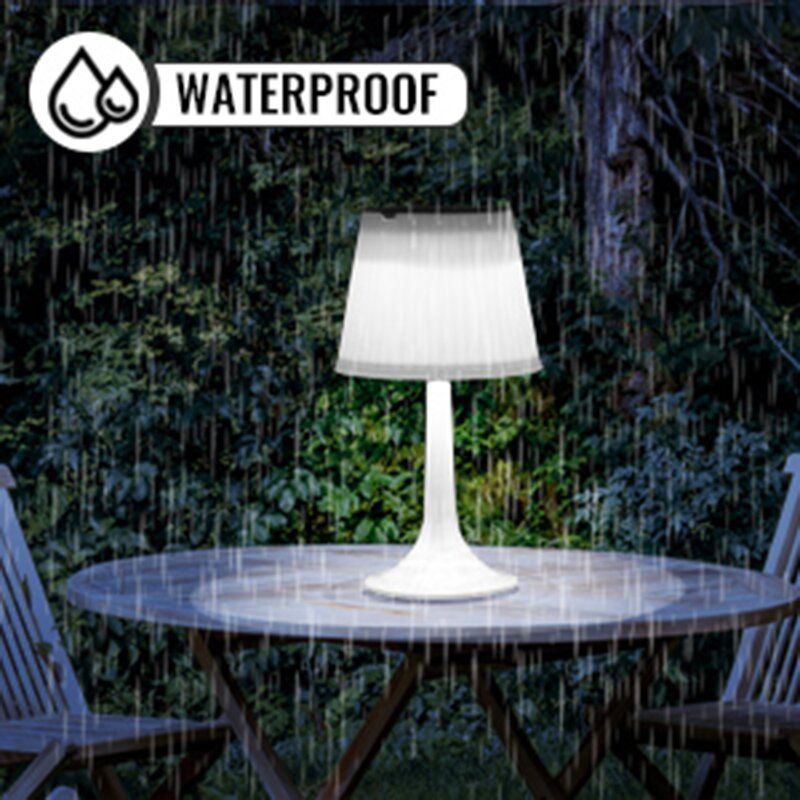 14 17 Solar Powered Integrated Led Outdoor Table Lamp Outdoor Table Lamps Table Lamp Outdoor Lamp