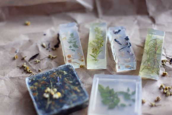 How To Make Flower Soaps #makeflowers