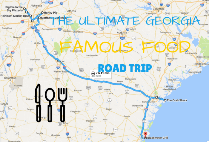 Map Of Georgia Helen.This Georgia Restaurant Road Trip You Ve Been Waiting For Ultimate