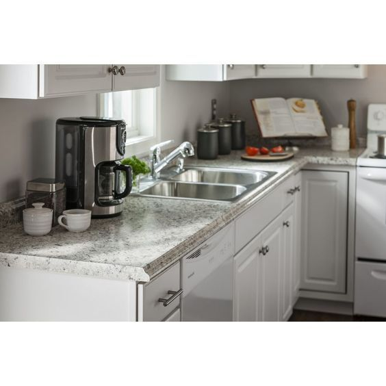 Belanger Fine Laminate Countertops Formica 10 Ft Ouro Romano With Etchings Miter Laminate Kitchen Cou With Images Laminate Kitchen Kitchen Countertops Laminate Countertops