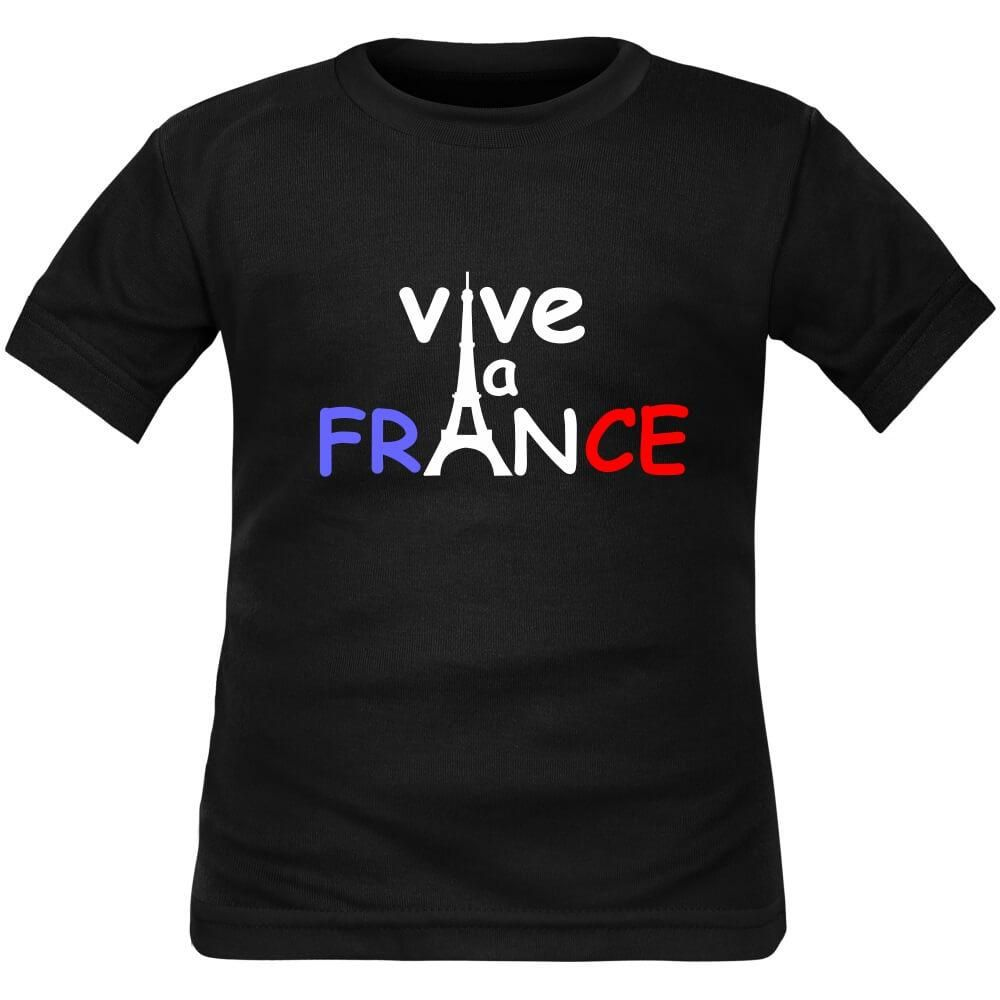 befe03c0fdd7a T-shirt enfant original   VIVE LA FRANCE (7 couleurs)