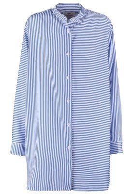 Mads Nørgaard SAXA - Camisa - blue/white - Zalando.es