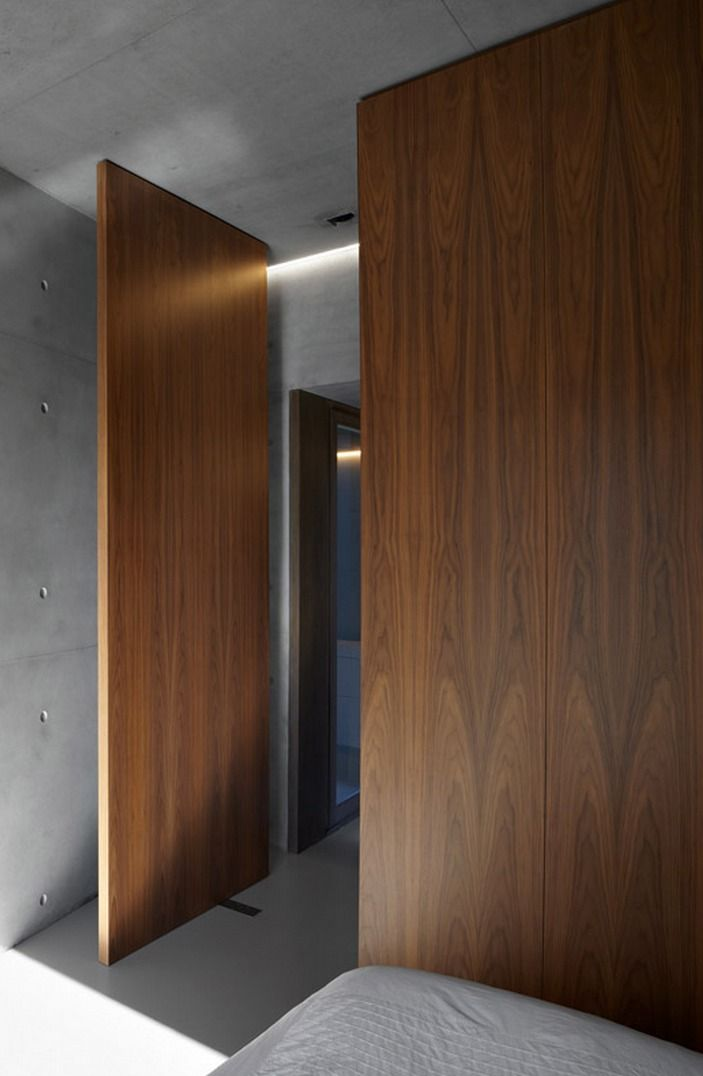 Concrete Wood By Minus Doors Gates Windows Doors