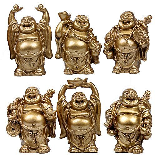 Christmas Characteristic Gift Decoration Laughing Buddha Figurines
