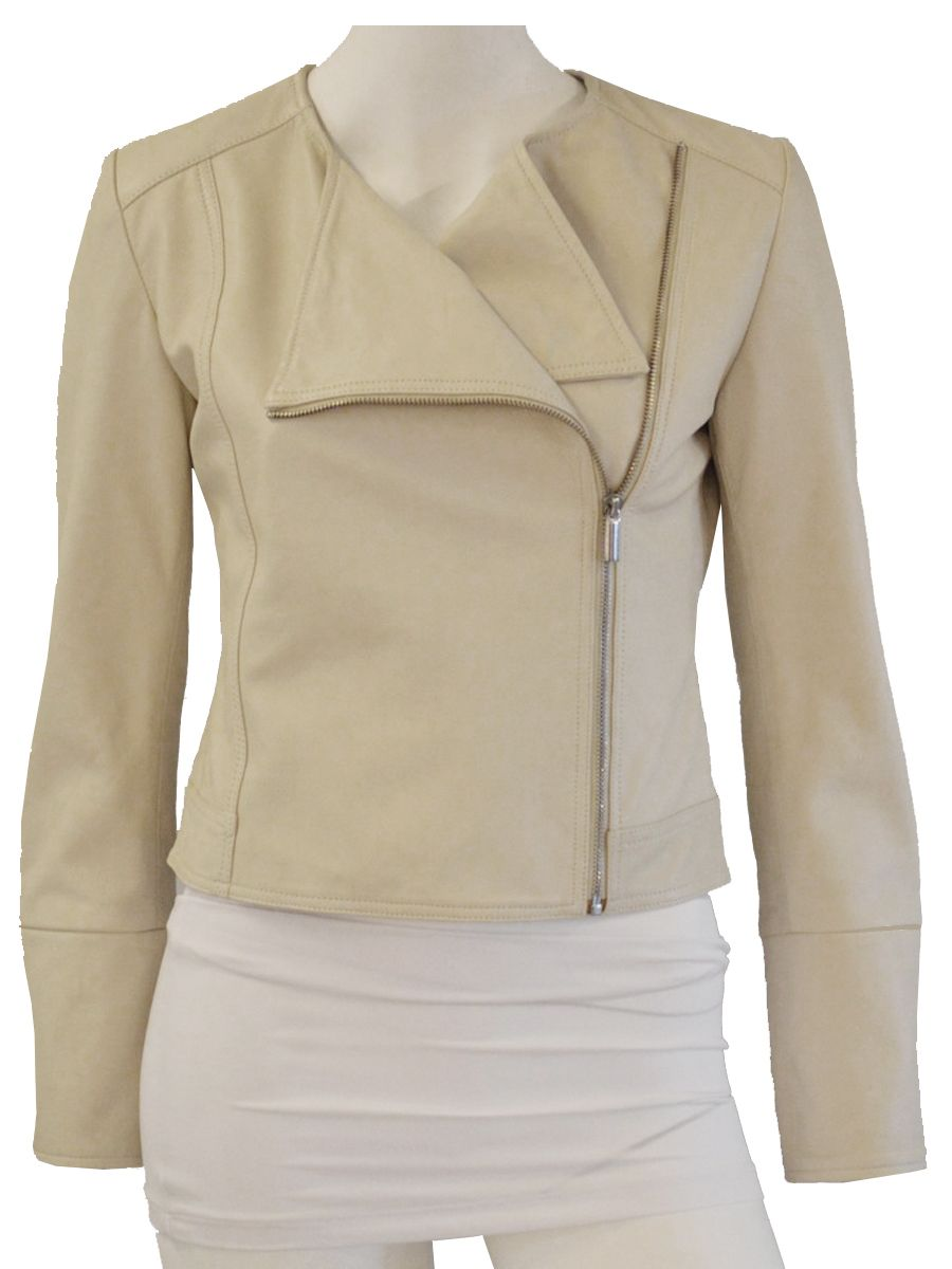 Modes, Irene Leather Jacket, WILD-SWANS.COM