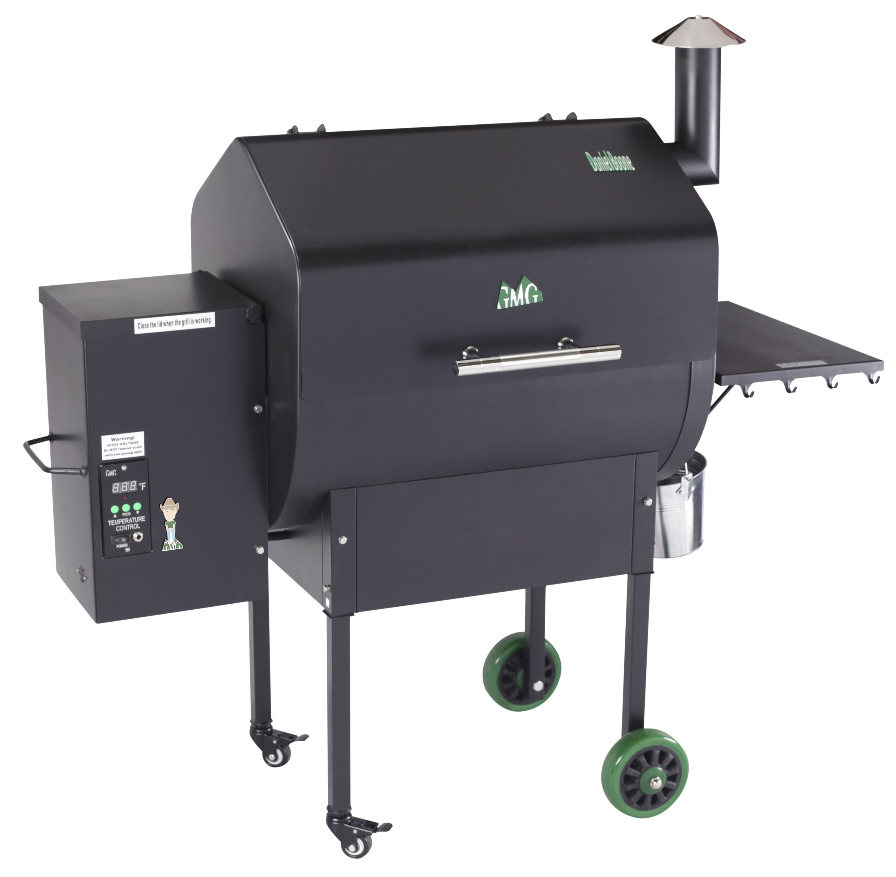 Lovely Backyard Smoker Grill Part - 10: Green Mountain Grills Pellet Smoker - Daniel Boone WiFi Will Have You  Smoking Like A Professional In No Time. Easy To Use Pellets Make This  Pellet Smoker