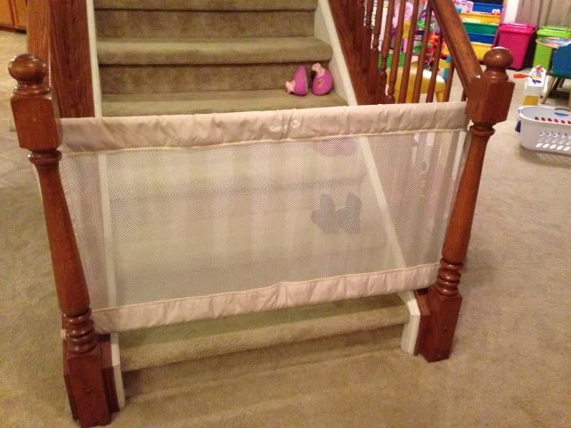 Keep Your Baby Safe Make Your Own Baby Gate Diy Baby