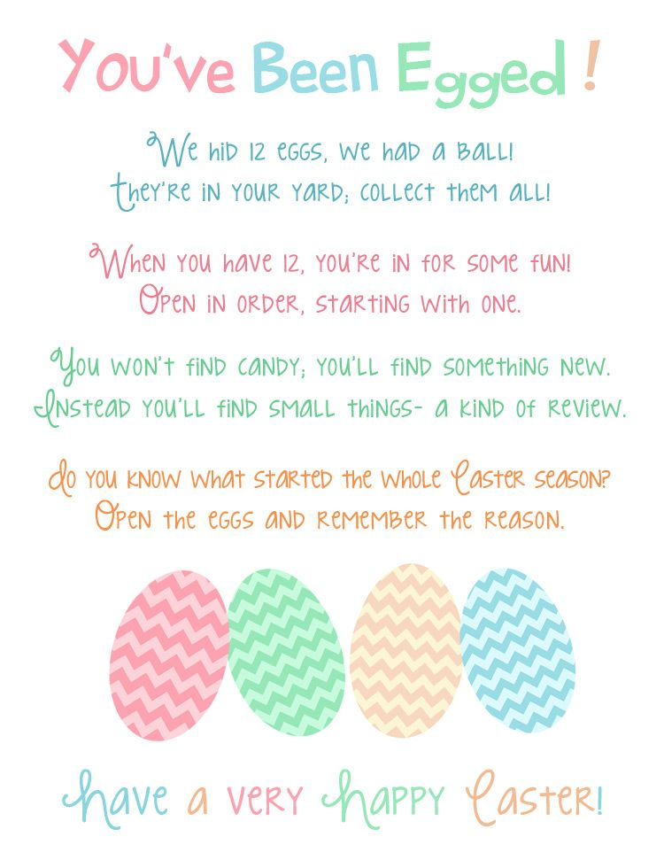 Jedi Craft Girl Day 9 Service Youve Been Egged Printable Easter