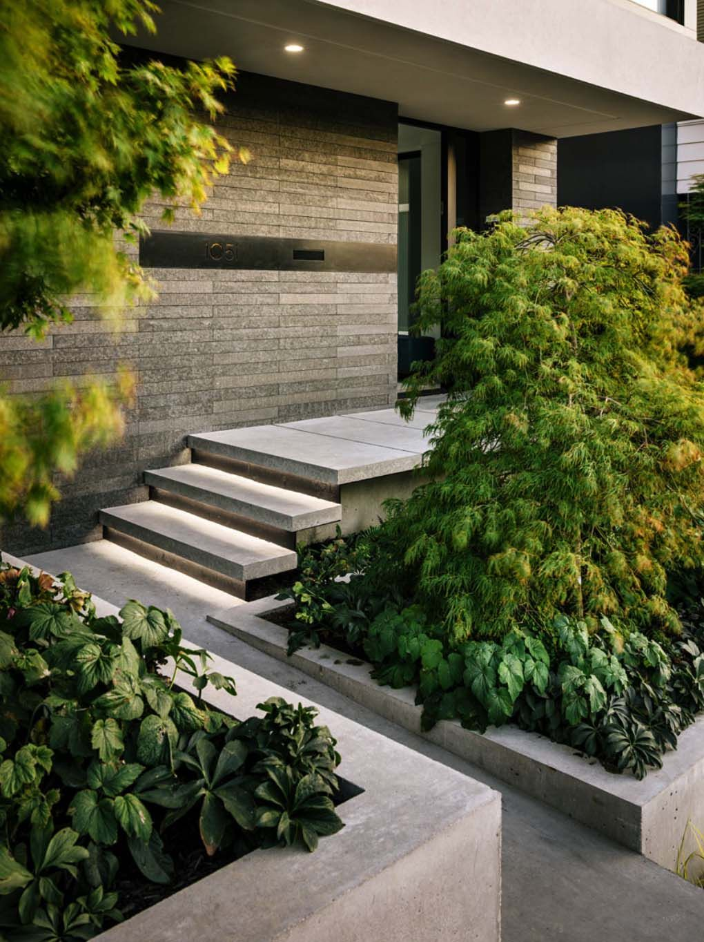 Mid Century Modern Homes Landscaping mid-century modern with dramatic san francisco skyline views