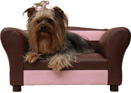 Robot Check Dog Sofa Mini Dog Sofa Leather Dog Bed