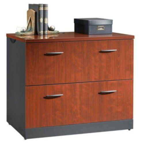 Via Lateral File In Classic Cherry By Sauder By Sauder