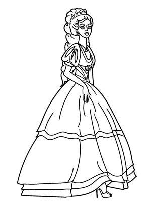 Ausmalbild Prinzessin Belle Ausmalbilder Prinzessin Prinzessin Belle Prinzessin