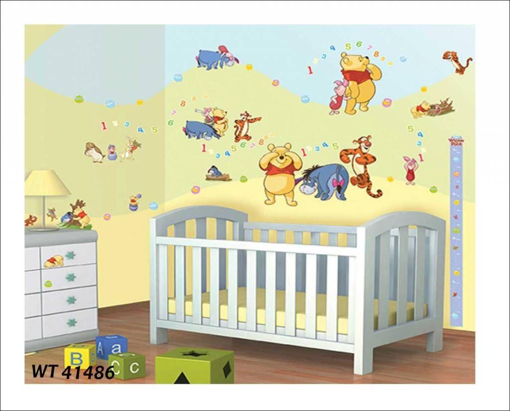 Inspirational Fotobehang of wandstickers Winnie the Pooh en al zijn allerbeste vriendjes Iejoor Teigertje