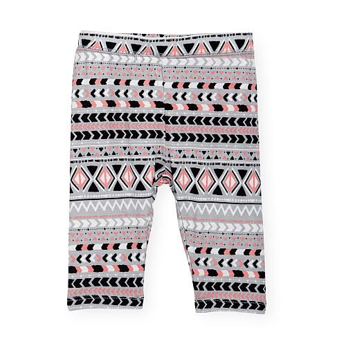 Enliven a darling's ensemble with this patterned pair of Koala Kik Girls Black/Pink Geometric Print Capris that couldn't be more comfy with their smooth stretch-enhanced fabric.<br><br>The Koala Kik Girls Black/Pink Geometric Print Capris features:<br><ul><li>Includes a pair of capri length leggings</li><br><li>Pull-on design for easy changes</li><br><li>Matches flawlessly with solid color tops</li><br><li>94% viscose / 6% spandex</li><br><li>Machine wash, tumble…