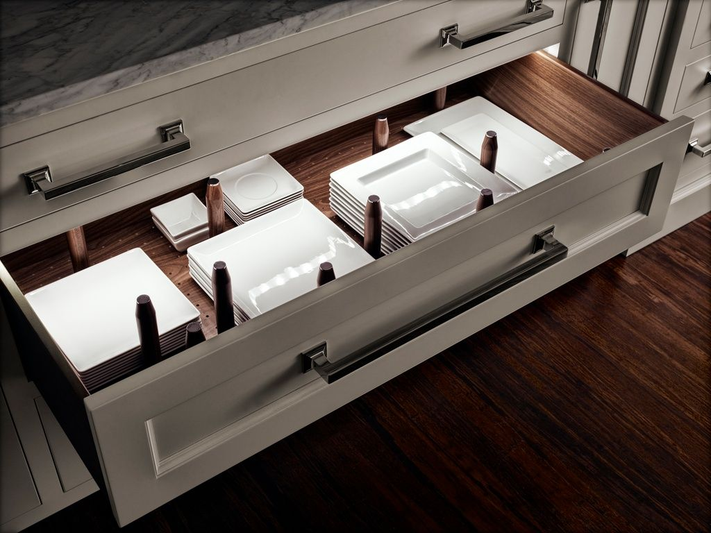 A customizable peg system and led lights turn this basic kitchen a customizable peg system and led lights turn this basic kitchen drawer into serious eye candy workwithnaturefo