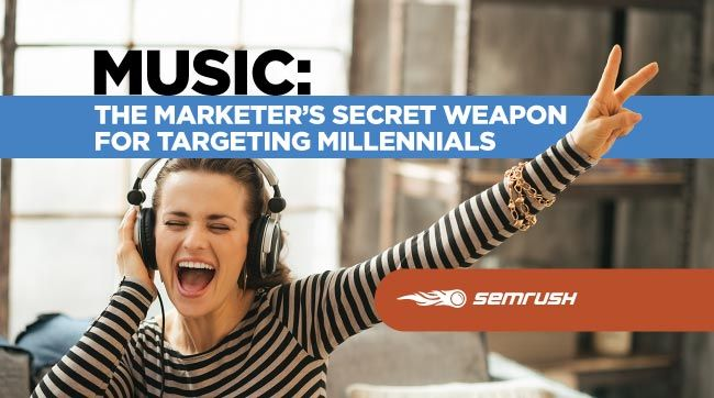 Music: the marketer's secret weapon for targeting millennials