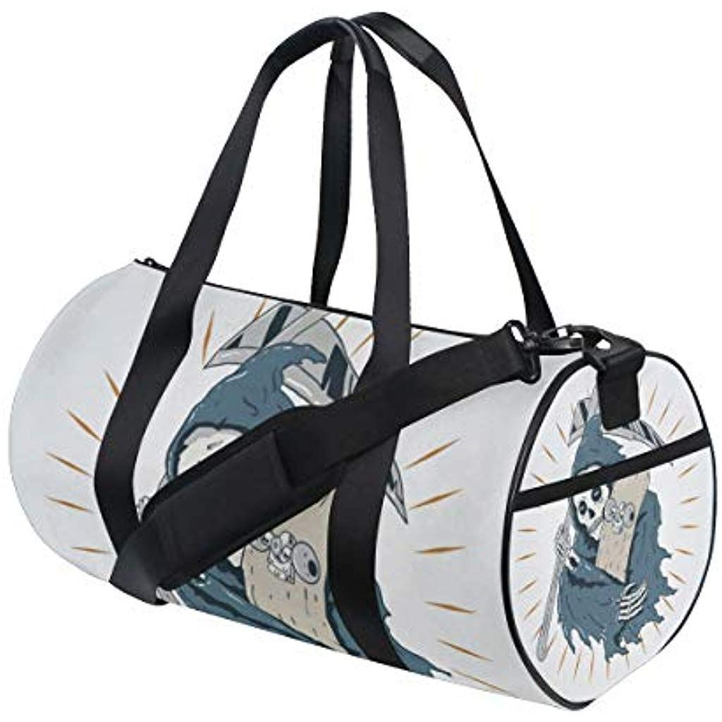 Women Men Fashion Travel Sport Gym Bag Shoulder Bag Hand Luggage Duffel Pack New
