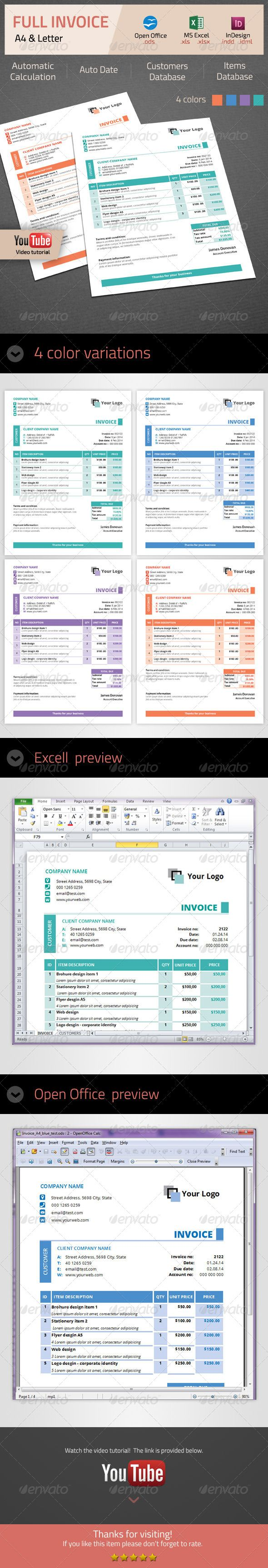 Invoice Proposals Template And Graphic Resume