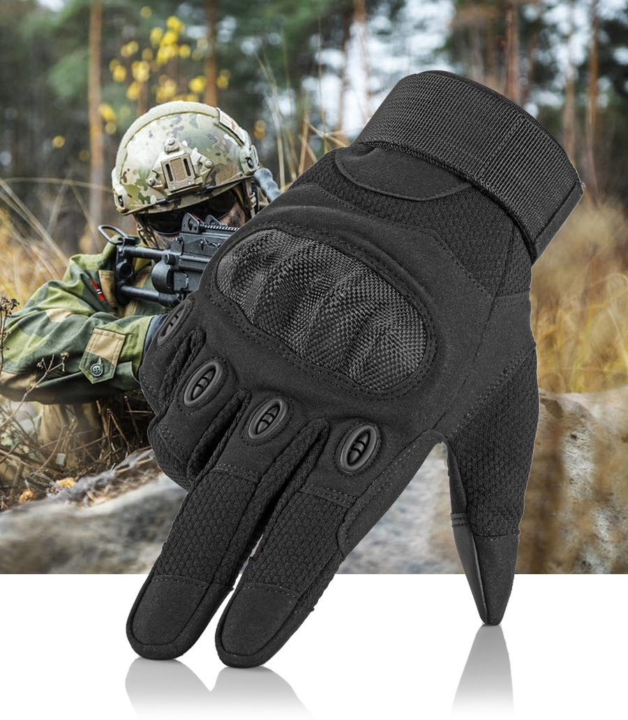 b0191a777f13 Touch Screen Tactical Gloves Military Army Paintball Shooting ...